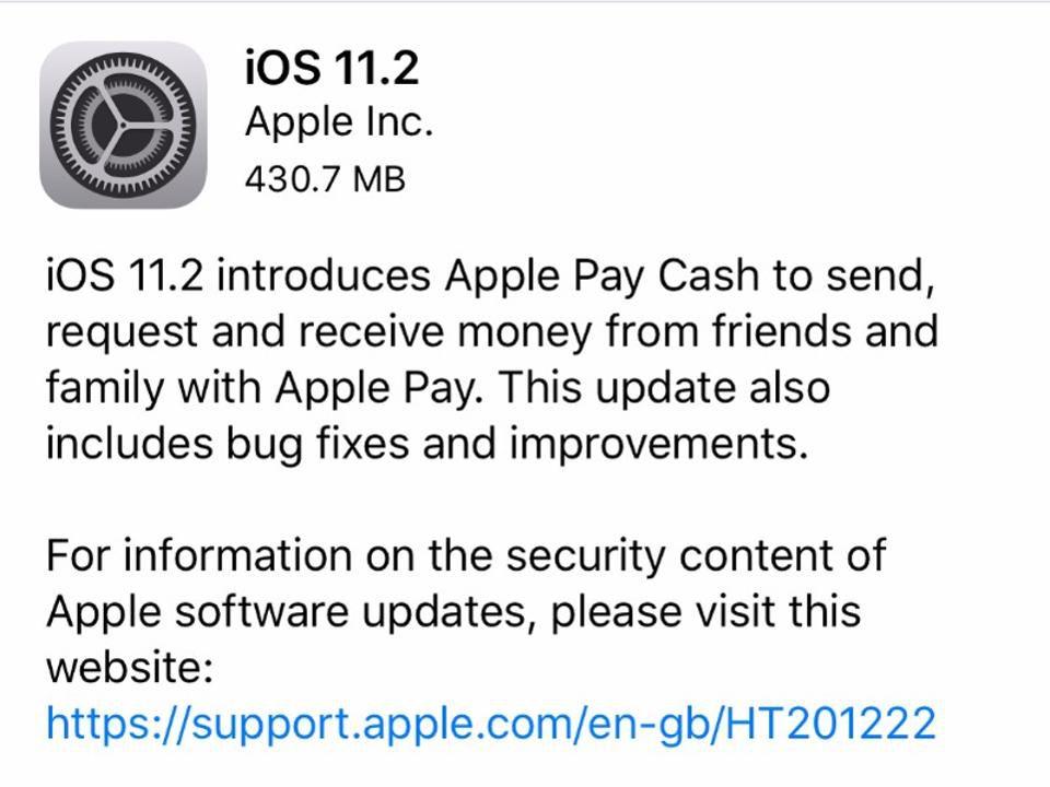 Major-iOS-11